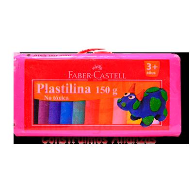 PLASTILINA X 150 GR MAGENTA FABERCASTELL(6)