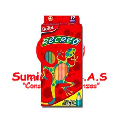 COLORES X 12 RECREO (120)