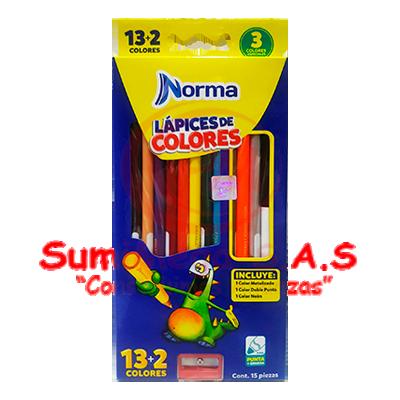 COLORES X 13+2 NORMA 581748 (48)