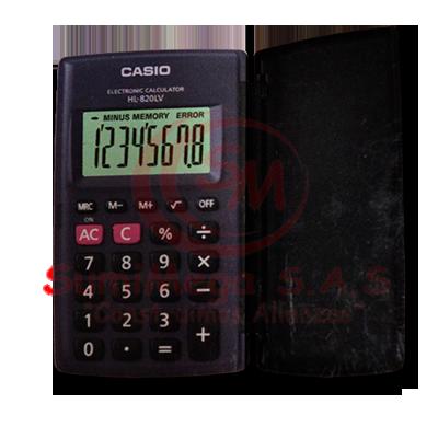 CALCULADORA 8 DIG HL820 TAPA CASSIO (10)