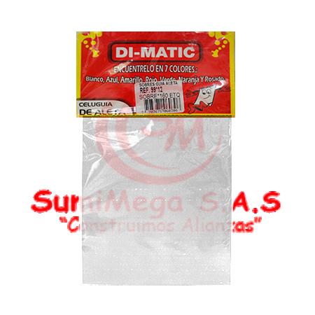 GUIA PARA CELUGUIA BLANCO X 160 DIMATIC