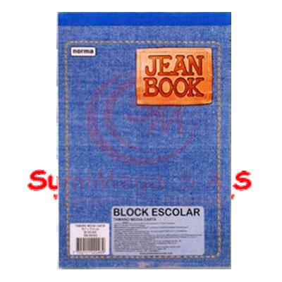 BLOCK OFICIO 80 HJ SIN RAYA 521212 JEAN BK/IMAG