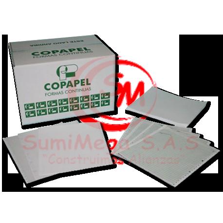 FORMA CONTINUA 9 1/2 X 5 1/2 2P COP