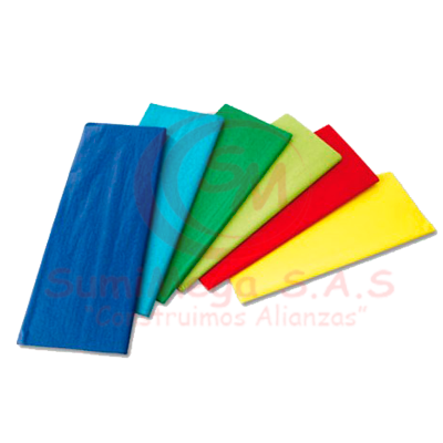 PAPEL GLOBO AZUL 70 X 50 (500)