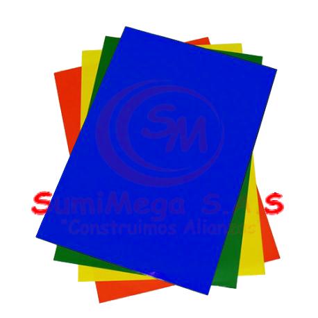 PAPEL SILUETA AZUL REY  70X 50 (500)