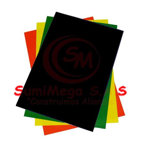 PAPEL SILUETA NEGRO  70X 50 (500)