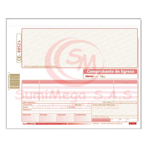 COMPROBANTE EGRESO CHEQUE 20-06A X 50 MINERVA (10)