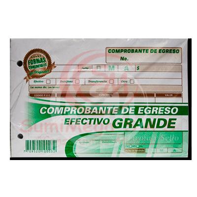 COMPROBANTE INGRESO EFECTIVO ORIG+2COP FORMAS COMERCIALES