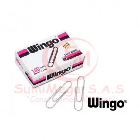 CLIP JUMBO X 100 WINGO (100)