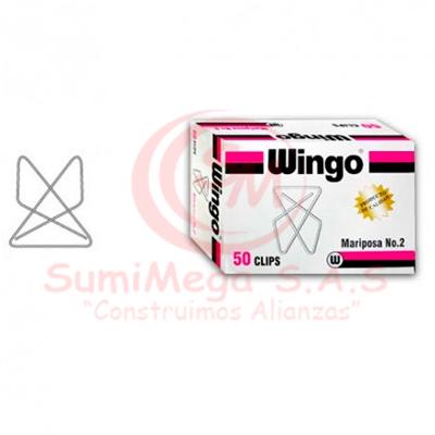 CLIP MARIPOSA X 50 5350 WINGO (50)