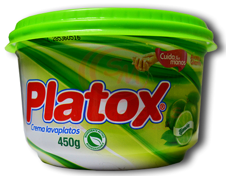 LAVAPLATOS CREMA X 450 LIMON PLATOX (24)