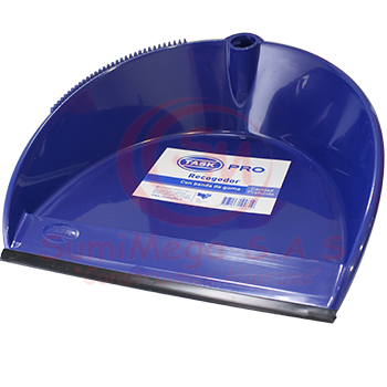 RECOGEDOR PEST AZUL M/PVC 1019081/S206093 TASK/1A