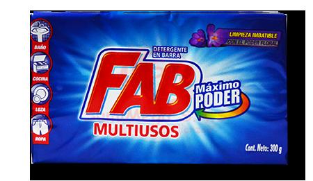 JABON BARRA FAB LIMON/FLORAL 300GRM (48)