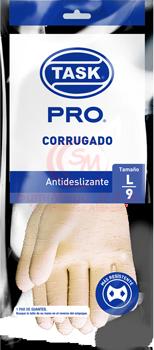 GUANTE L CORRUGADO AMAR CAL 18 2161213 TASK(12)***
