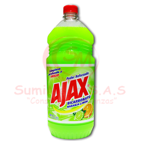 BICARBONATO X 1 LT AJAX NJA-LIMON (12)