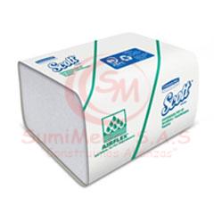 SERVILLETA ECO BCA X 120 24X10CM 9601 SCOTT(30)