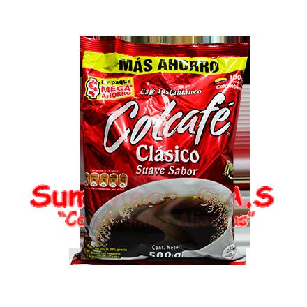 CAFE INSTANTANEO X 500 GR CLASICO COLCAFE (24)