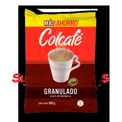 CAFE INSTANTANEO X 500 GR GRANULADO COLCAFE (24)