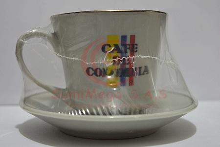 POCILLO / PLATO PEQ CAFE DE COLOMBIA