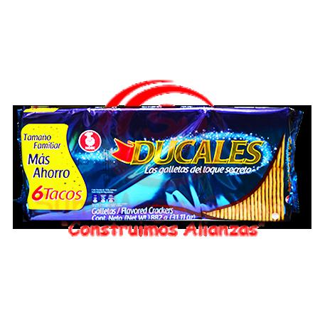 GALLETA DUCALES TACO X 6