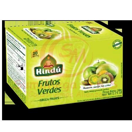 INFUSION FRUTOS VERDES 20GR X 20 SOBRE HINDU (144)