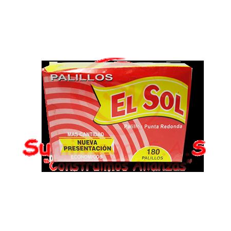 PALILLOS PEQUEÑOS X 180 EL SOL (96)