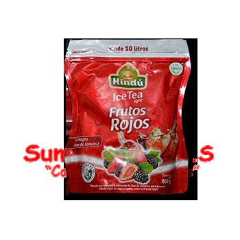 BEBIDA TE HELADO FRUTOS ROJOS X 600GR HINDU(6)