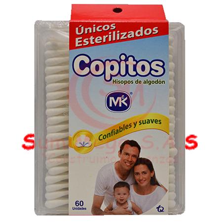 COPITOS X 100 ARCOIRIS HIGIETEX
