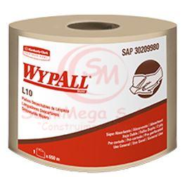 PAÑO WYPALL L10 SIN PREC HS 650 MTS 30209980