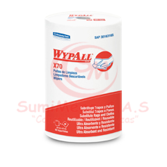 PAÑO WYPALL X70 ROLLOX88HJ (42X28cm) 3165 (6)