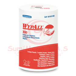 PAÑO WYPALL X80 ROLLOX80HJ (42X28CM) 3166 (6)