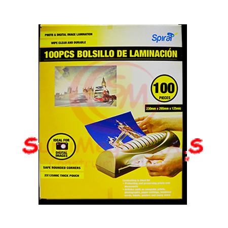BOLSILLO LAMINACION CARTA C5 X 100 UD