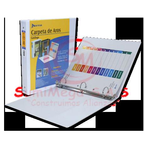 CARPETA CATALOGO 2″ O BCA 400HJ 500830 NORMA (10)