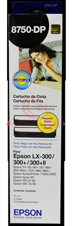 CINTA EPSON LX 300 DUAL PACK FX80/80+/86/850