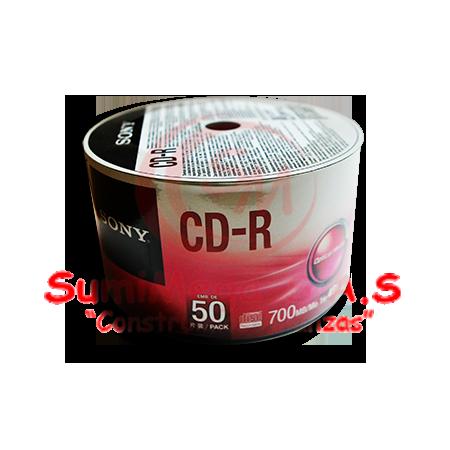 CD-R X 50 SONY (12)