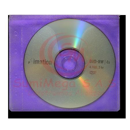 DVD-RW X UND 4,7 GB EN SOBRE***