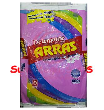 DETERG EN POLVO X 500 GR 6% ARRAS(40)