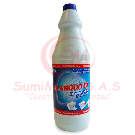 BLANQUEADOR X 1 LT 5,25% BLANQUITEX (12)