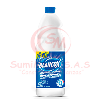 BLANQUEADOR X 1 LT 5.25% BLANCOX (12)
