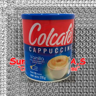 CAFE CAPUCHINO COLCAFE 270G VAINILLA/CLASICO